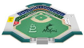 Roger Dean Stadium Seating Chart With Seat Numbers Seating Chart Roger Dean Chevrolet Stadium