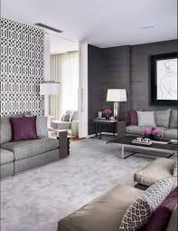 Small Picture Unusual Ideas Gray And Purple Living Room Interesting Design