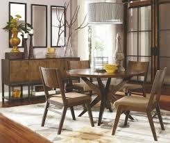 kateri hazelnut round pedestal dining room set main image