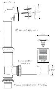 bathtub drain shoe 1 1 2 in brass tub drain waste and overflow shoe bathtub drain bathtub drain shoe