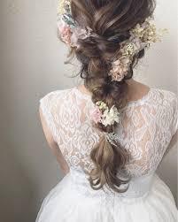 ウェディングドレスに似合う髪型はこれレングス別に紹介します2019