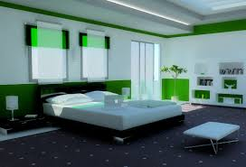 modern bedroom green. Bedroom:A Modern Bedroom Color Schemes In Green Within A Room With Buffet, MTL Collective