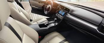2017 honda civic sedan ex t interior front detail