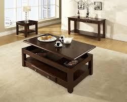traditional dark cherry coffee table set dark cherry