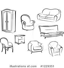 furniture clipart black and white. Wonderful Furniture Furniture Clip Art Black White  Clipart Panda  Free Images  Throughout Throughout And Home Design