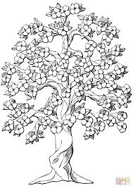 Small Picture Flowering Apple Tree coloring page Free Printable Coloring Pages