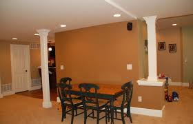 basement remodeling columbus ohio. Accent Columns To Hide Poles In Basement Remodeling Columbus Ohio T