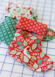 Fabric Christmas Ornaments To Make  This Is My Favorite Fabric Easy Christmas Crafts To Sew