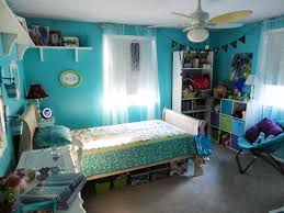 interesting cool teen room ideas teenage bedroom furniture bedroom with  blue paint and bed and table