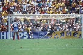 Pênalti perdido por Zico na Copa do Mundo 1986