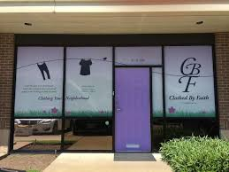 clothed by faith provides new or gently used clothing to those in need because of