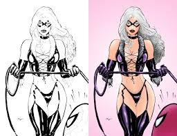 Small Picture Black Cat Coloring by wetterink on DeviantArt