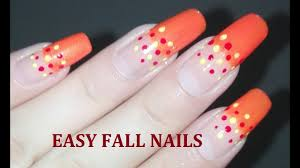 Easy DIY Wide French for Fall Nail Art Tutorial: No Tools Dotting ...