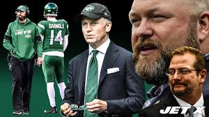 New York Jets CEO Christopher Johnson is stuck in more ways than one