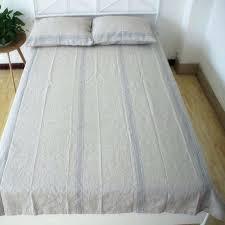 washed linen sheets striped washed linen sheet set bed cover pure linen bedding set linen sheets washed linen sheets
