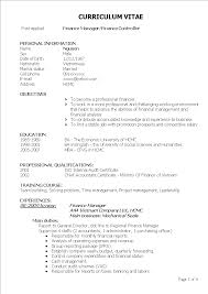 Curricula Vitae Example Free Sales Account Manager Curriculum Vitae Example Templates At