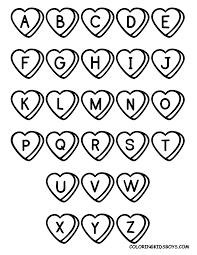 Small Picture Simple Alphabet Coloring Pages Coloring Pages