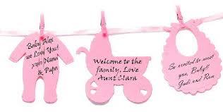 Creative Design Baby Shower Clothesline Appealing Words Of Love Keepsake  Set 24