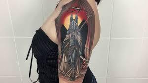 значение загадочного и мистического тату анубиса