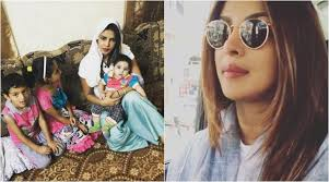 Image result for PRIYANKA CHOPRA IN SYRIA REFUGEE CAMPS