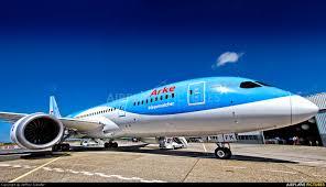 Dream Catcher Airplane PHTFK ArkeArkefly Boeing 100100 Dreamliner at Amsterdam 18