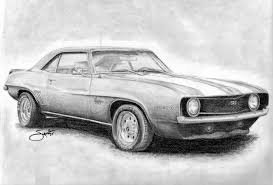 muscle cars drawings. Fine Cars Car Drawings 1624524 License Personal Use Throughout Muscle Cars