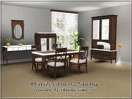 mid century modern dining and style set sims 3 download. mediteraneo dining recolor by sheela - sims 3 downloads cc caboodle mid century modern and style set download