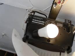 garage door opener bulbLED Light Bulb In Garage