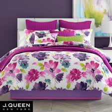 midori fuchsia floral comforter bedding from j by j queen new york