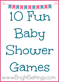 10 Fun Baby Shower Games - The Bright Ideas Blog