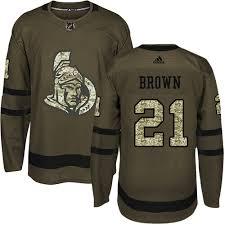 From Jerseys Premier Fanatics Shop Authentic - Branded Adidas Jersey Brown Logan Senators