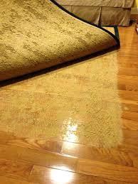 rug pad for hardwood floors latex backing stuck to floor best non slip rug pad for