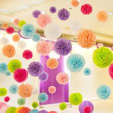 paper art ceiling decor