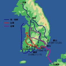 「慶長の役・順天城の戦い」の画像検索結果