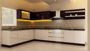 Small Picture Modern Kitchen for Home Interiors in Kerala Customized