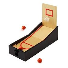 Wooden Basketball Game Kids' Games Wooden Soccer Pinball Game in Games for G Creative 5