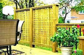 outdoor patio privacy screen apartment ideas backyard screens panels freestanding freestandi