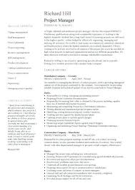 ↶ 40 Project Manager Resume Examples Impressive Project Manager Resume Examples