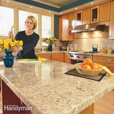 Pictures Of Kitchen Countertops And Backsplashes Stunning How To Install Granite Tile Countertops Kitchen Tile The Family
