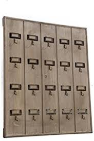 Vagabond Vintage Rustic Recycled Pine Hotel Keyrack