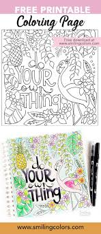 Free Printable Coloring Page Perfect For