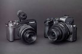 Nikon Digital Camera Comparison Chart Nikon Z50 Vs Canon Eos M6 Mark Ii Midrange Mirrorless