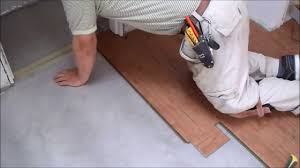 how to install laminate flooring on concrete slab in tiny room mryoucandoityourself you