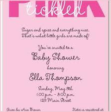 Baby Shower Invitation Wording Also Baby Shower Invitation