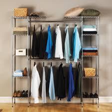 Portable Closet Rod Shop Amazoncom Garment Racks