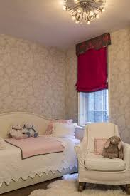 pink and gray girl bedroom with daybed
