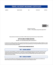 Group Certificate Template Travel Certificate Template 9 Free Pdf Documents Download Free
