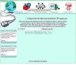 Курсовая работа Компьютерные сети сервис whois dipcurs Главная страница whois клиента на php курсовой работы