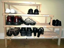 full size of diy closet shoe rack ideas build 22 storage for small spaces simple decorating