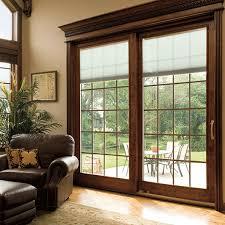 wood sliding patio door designer series